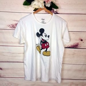 Disney | Mickey Mouse White T-shirt XXL